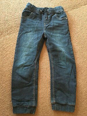 Next Authentic navy blue pull up jeans - Size 6 years - look inside
