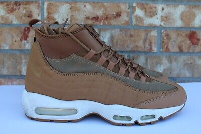 reputable site 50edf d4214 Men s Nike Air Max 95 Sneakerboot Flax Tan Brown Sail Size 10.5 806809-201