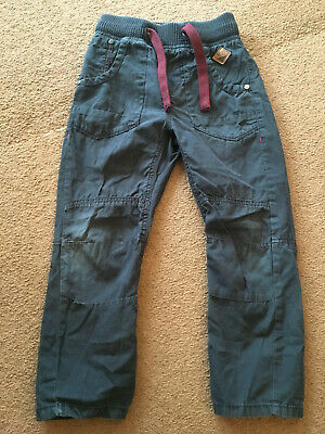 Next navy blue cargo trousers - Size 6 years - look inside
