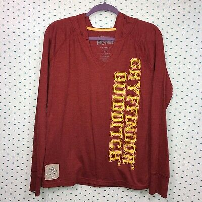 79a3bed6 The Wizarding World of Harry Potter Medium Gryffindor Quidditch T-Shirt  Hoodie