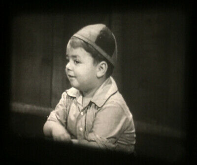 16mm Little Rascals Uncensored - THE PINCH SINGER (1936) non-PC version