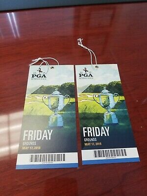 (2) Friday Tickets to 2019 PGA Championship - Bethpage Black - FREE SHIPPING!
