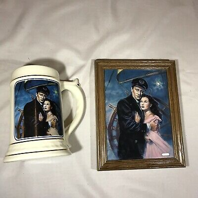 John Wayne 'Wake Of The Red Witch' Plaque & Stein The American Hero Collection