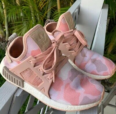 the best attitude 7c577 43aff NEW ADIDAS NMD XR 1 Duck Camo Pink Womens Shoes 6.5 ...