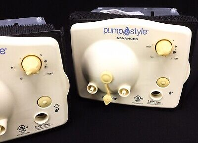 Motors Only | Medela Pump In Style Advanced Electric Breast Pumps 9VDC Lot Of 2