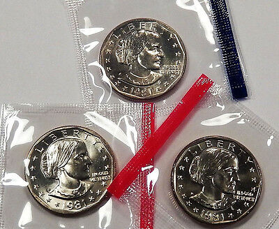 ROLL OF 1981-s SBA  DOLLARS PROOF 20 COINS