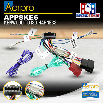 Super Aerpro App8Ke Secondary Harness Kenwood To Iso 2000 2004 16 Pin Wiring Digital Resources Indicompassionincorg
