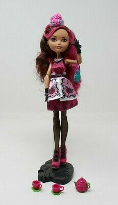 Ever After High Doll~Briar Beauty~Hat-tastic Tea Party~Pink Silver Black Shoes