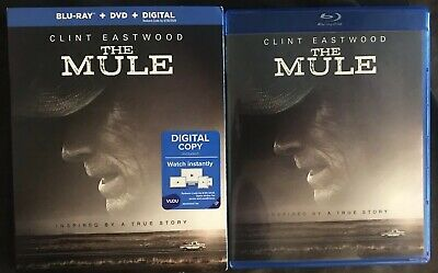 The Mule Blu Ray + Dvd 2 Disc Set With Free World Wide Shipping