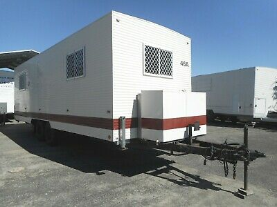 1999 Traymark Ex Government Onsite Site Mobile Accommodation Caravan