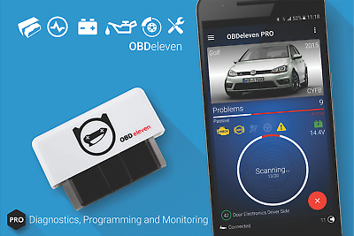 OBDeleven for Android Audi VW Bluetooth Diagnostic Tool OBD2 + PRO CAN VAS VCDS