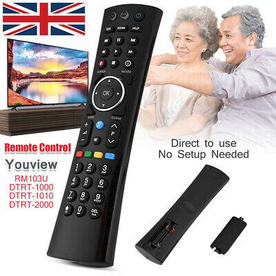 Replacement Remote Control for Humax RM-F01 for FOXSAT-HDR