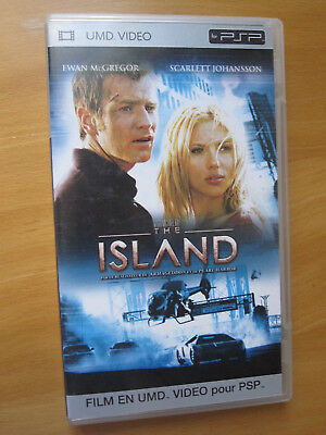 PSP UMD Video - The Island - français et anglais - ok film SF Johansson McGregor