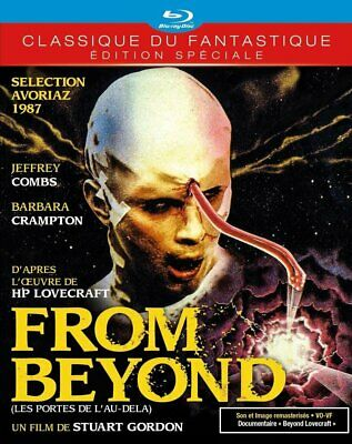 From Beyond  Blu Ray  Neuf Sous Cellophane