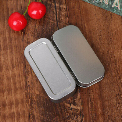 Hot Metal Storage Box Tin Empty Case Coin Candy Keys Jewelry Desktop Organizer