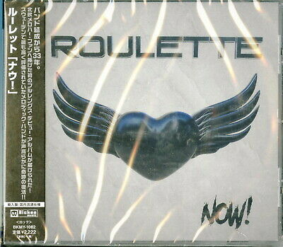 Roulette-Now! -import CD con Giappone Obi E83