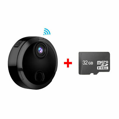 Mini Spy Camera Wireless Wifi IP Security HD 1080P DVR Night Vision + 32GB Card