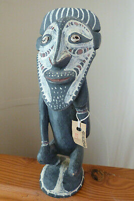 Papua New Guinea Carved Wood Statue