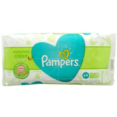 64Pack Pampers Baby Propre Naturelle Lingettes