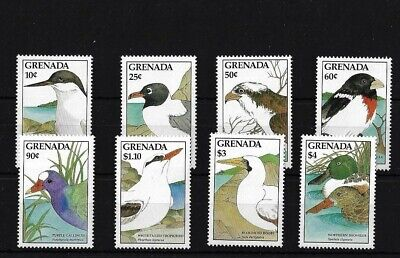 Grenada Sg1762/9, 1988 Birds Set Mnh