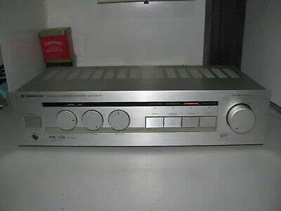 Kenwood Model KA-30 Stereo Integrated Amplifier Audiophile Japan Working A1 Con