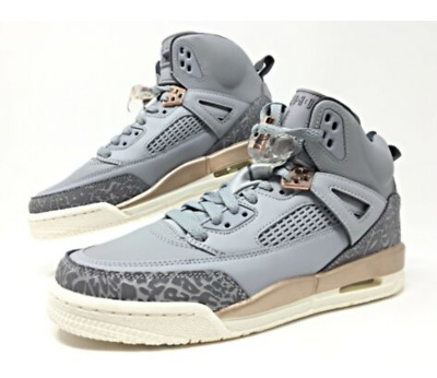 hot sale online 8ea07 cabc8 Nike Air Jordan Spizike Wolf Grey Dark Bronze GS Grade School SIZE 7Y 535712 -018