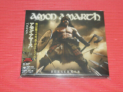 2019 Japan Digi Sleeve Cd Amon Amarth Berserker