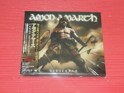 2019 Japan Digi Sleeve Amon Amarth Berserker 2 Cd Edition