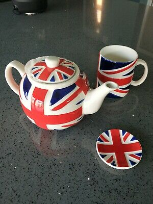 Union Jack Tea Set