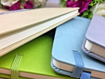 1 x A5 Ruled Notebook Note Book Polyurethane Cover Elastic Band Dairy Journal