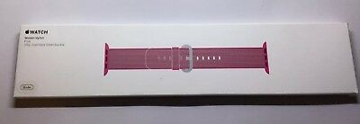 GENUINE APPLE WATCH WOVEN NYLON STRAP 2016 PINK 38mm Or 40mm