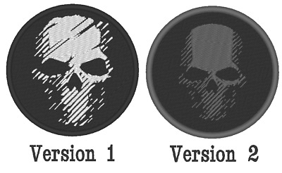 """E036B Cosplay Airsoft Game Embroidered """"Ghost Recon Breakpoint Logo"""" Patch"""