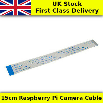 15cm Raspberry Pi Camera Cable FPC/FFC 15 Way - UK First Class
