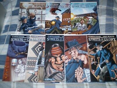 Streets of Glory Preview + 1 2 3 4 5 6 - Garth Ennis / Avatar / Complete Set