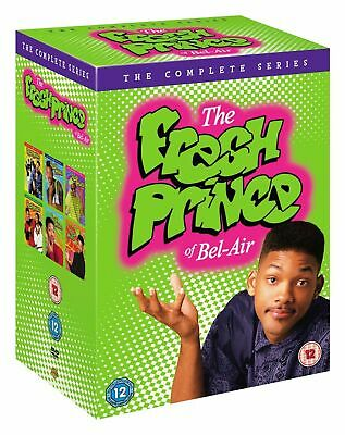 The Fresh Prince Of Bel-Air - The Complete Series New and Sealed UK Region 2 DVD