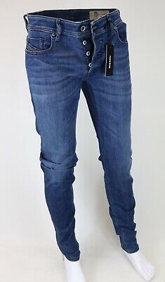 5590af04 Diesel Sleenker Wash 0858B Stretch Men's Jeans Pants Slim Skinny Selectable