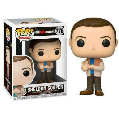The Big Bang Theory Pop! Funko Sheldon Cooper Vinyl Figures Television N°776