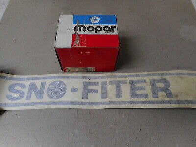 "NOS MoPar Body Side Stripe - ""Snofiter"" - 1970's - P/N 2977953"