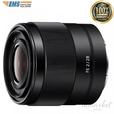 NEW SONY digital single lens camera α [E mount] lens SEL 28 F 20 (FE 28 mm F 2)