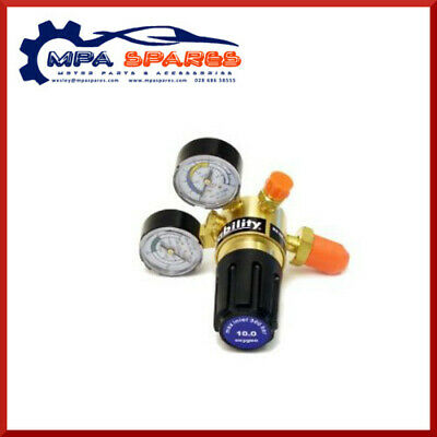 Single Stage 2 Gauge Welding Oxygen Regulator - 3.5 Bar