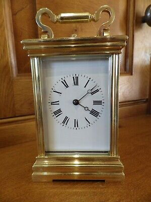 French Repeating Carriage Clock Fully Restored Movement And Case 1880-1900