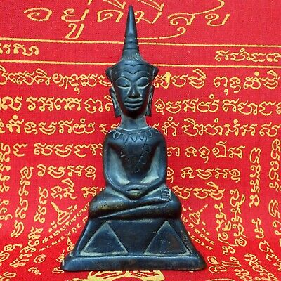 Phra Ngang Statue for Luck Love Passion Buddha Amulet Magic Khmer old Talisman
