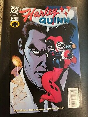 Harley Quinn (2000) #2 NM DC Comics Two-Face Appearance Batman Joker 1st Series