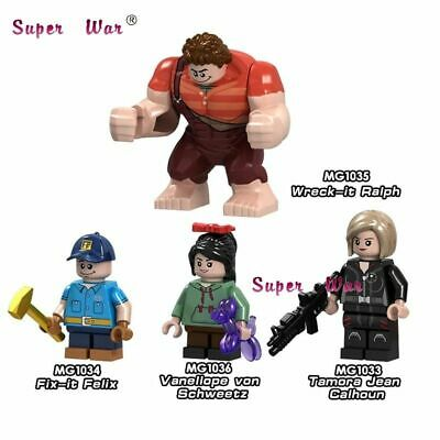 Lego Movie Ralph Breaks the Internet Wreck-It Ralph Figures Friends Princess Toy