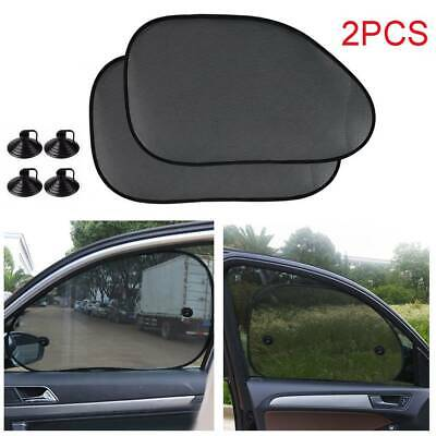 2x Universal Car Window Sun Shade Child Kids Blind Screen UV Protector Sunshade