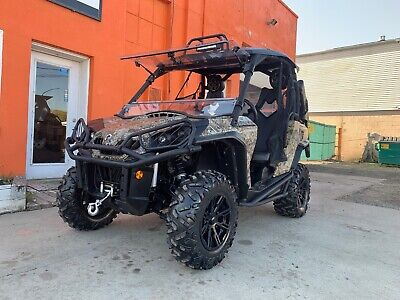 Camo Can Am Commander XT1000 WITH EPS,DPS HUNTER CAMO EDITION LOT OF UPGRADES