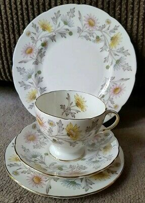 Foley Vintage Somerset Cup, Saucer and 2 Plates set Very Good Condition C.1950's