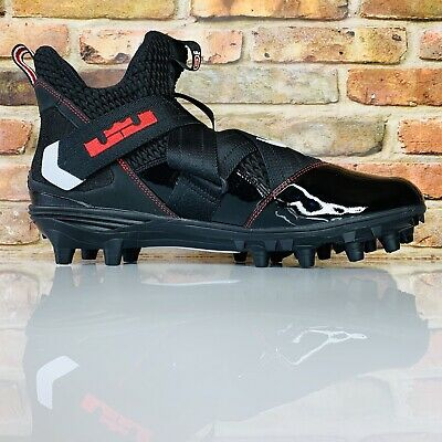 new product 7cf8e 57f7d NIKE LEBRON SOLDIER 12 Strike Football Ohio State Crampons Taille 11.5