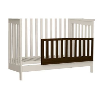 "Shermag Universal Guard Crib Toddler Rail 39"" x 16"" - Cherry 2056-48GS"