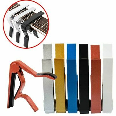 Metal Guitar Capo Trigger Change Tune Key Clamp For Acoustic/Electric/Classic